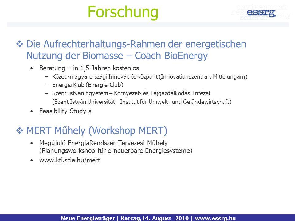 Forschung Die Aufrechterhaltungs-Rahmen der energetischen Nutzung der Biomasse – Coach BioEnergy Beratung – in 1,5 Jahren kostenlos –Közép-magyarorszá