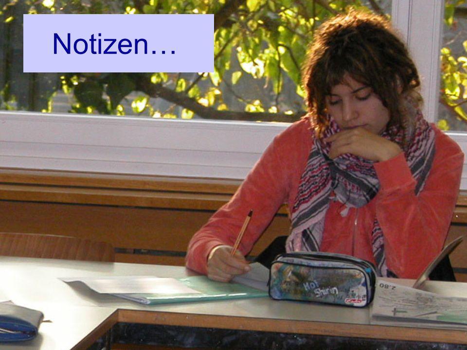 Notizen…