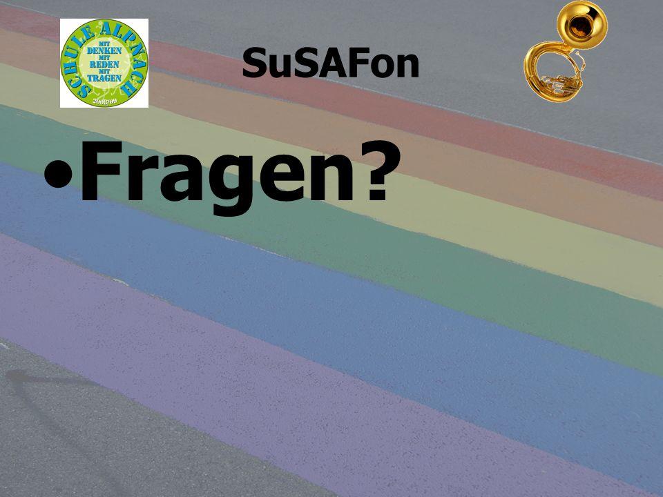 SuSAFon Fragen?