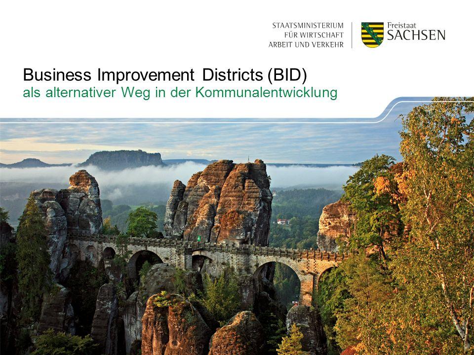 Business Improvement Districts (BID) als alternativer Weg in der Kommunalentwicklung