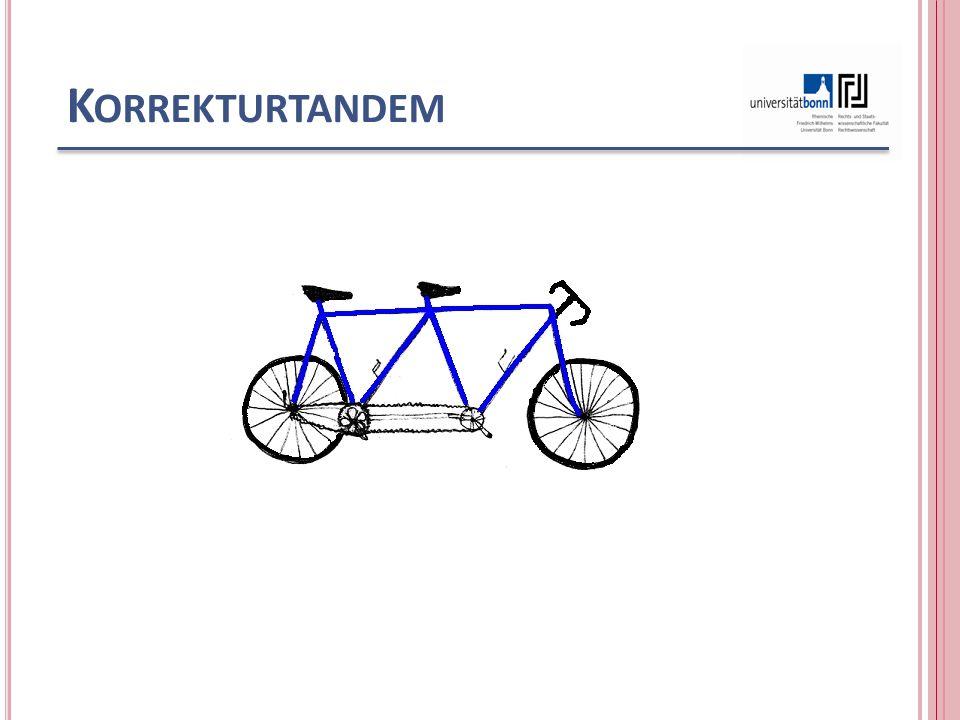 K ORREKTURTANDEM