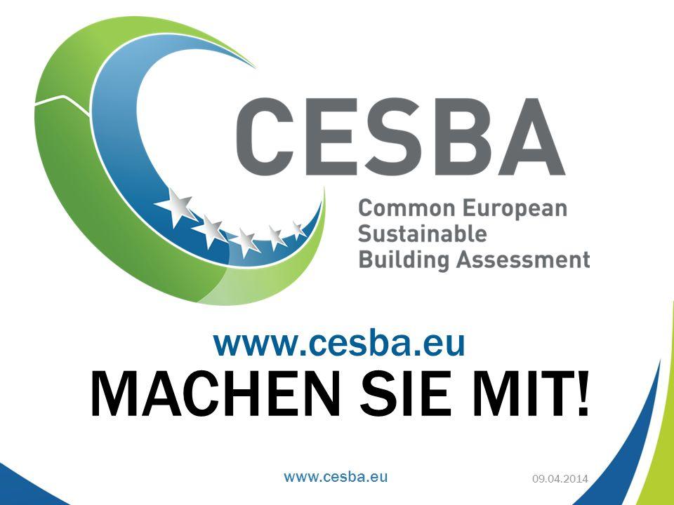 www.cesba.eu MACHEN SIE MIT! www.cesba.eu 09.04.2014