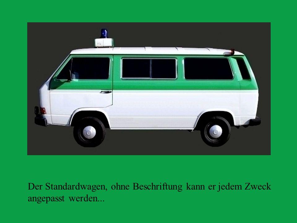 Neue Pozileifahrzeug- Generation .