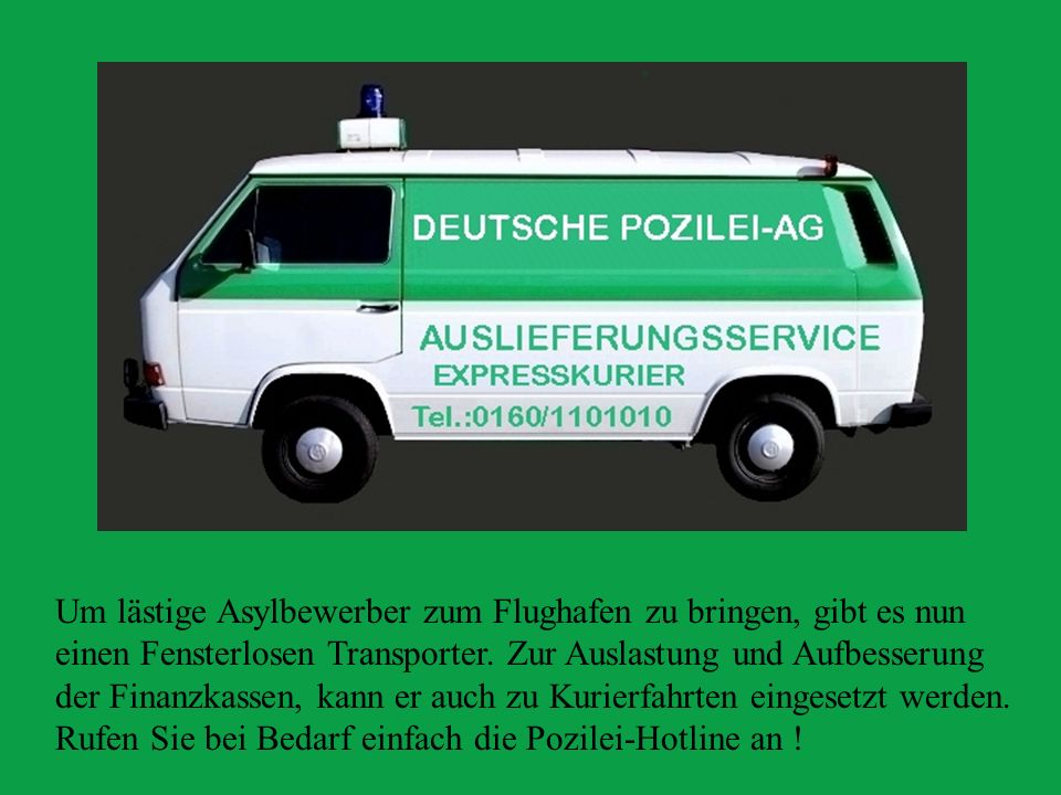 Ein Zugeständniss an die Emanzipation : der Einsatzwagen für die Jagd auf Falschparker, endlich ein vollwertiger Einsatzwagen für die Damen mit den Schreibblocks...