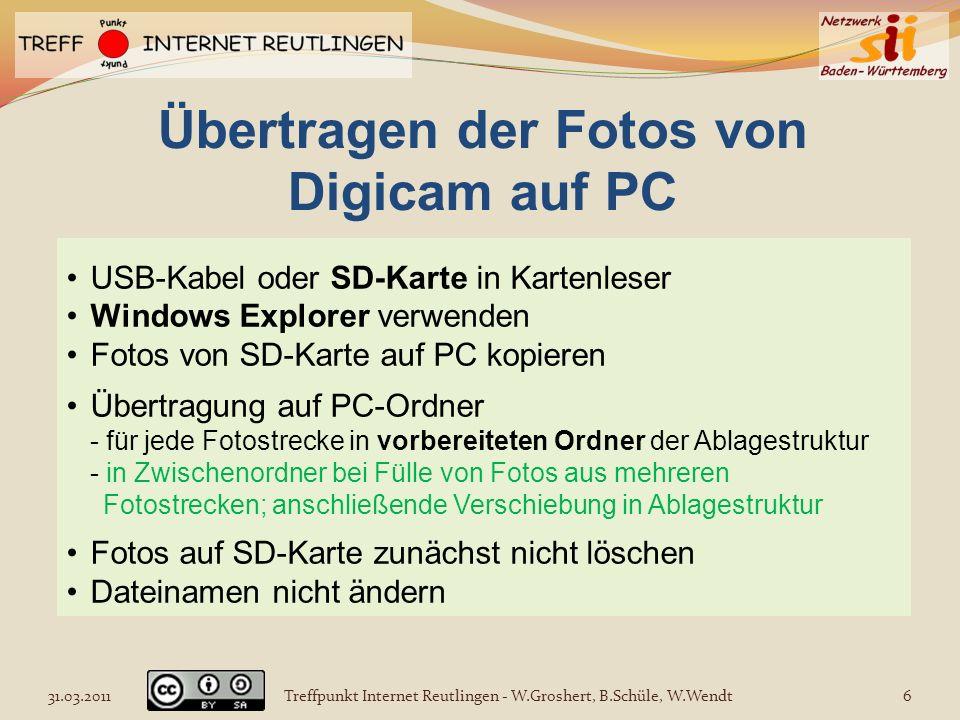 USB-Kabel oder SD-Karte in Kartenleser Windows Explorer verwenden Fotos von SD-Karte auf PC kopieren Übertragung auf PC-Ordner - für jede Fotostrecke
