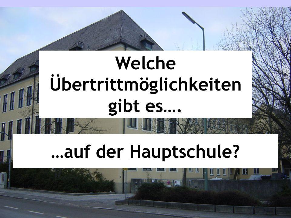 Grundschule Real- schule Gymnasium M-Zweige Haupt-/ Mittel- schule Was bedeutet M-Zweig?