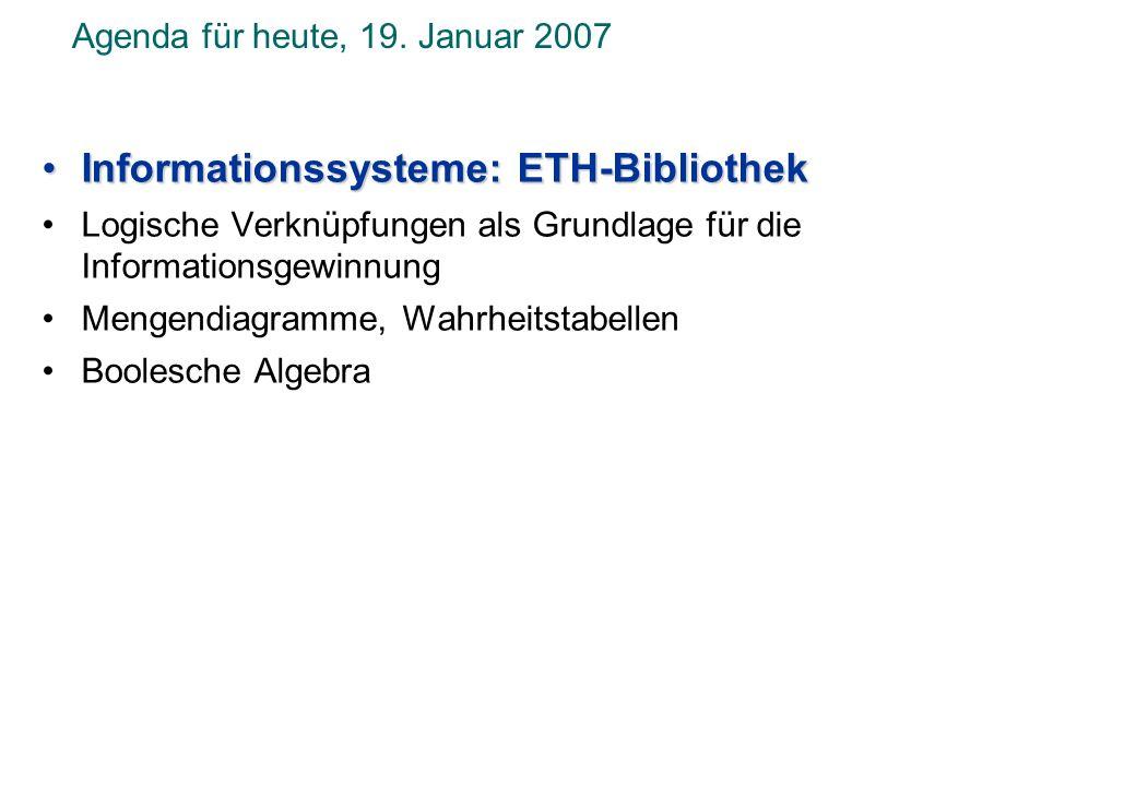 © Institut für Computational Science, ETH Zürich ETH-Bibliothek Vortrag von Frau E.