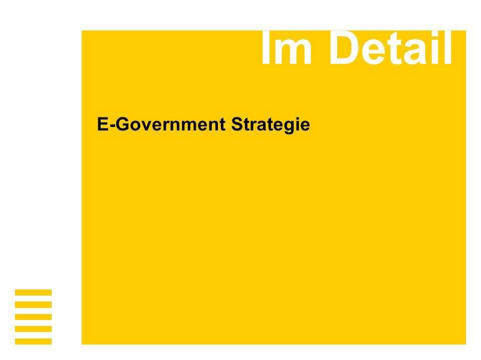 Im Detail E-Government Strategie