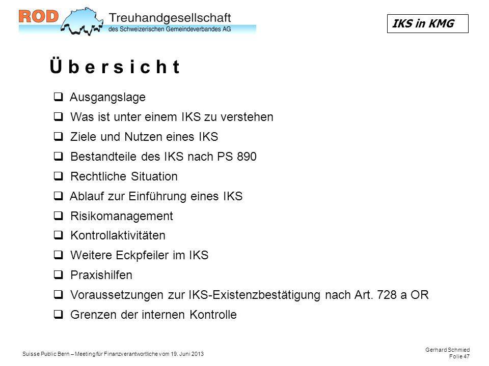 Gerhard Schmied Folie 47 Suisse Public Bern – Meeting für Finanzverantwortliche vom 19.