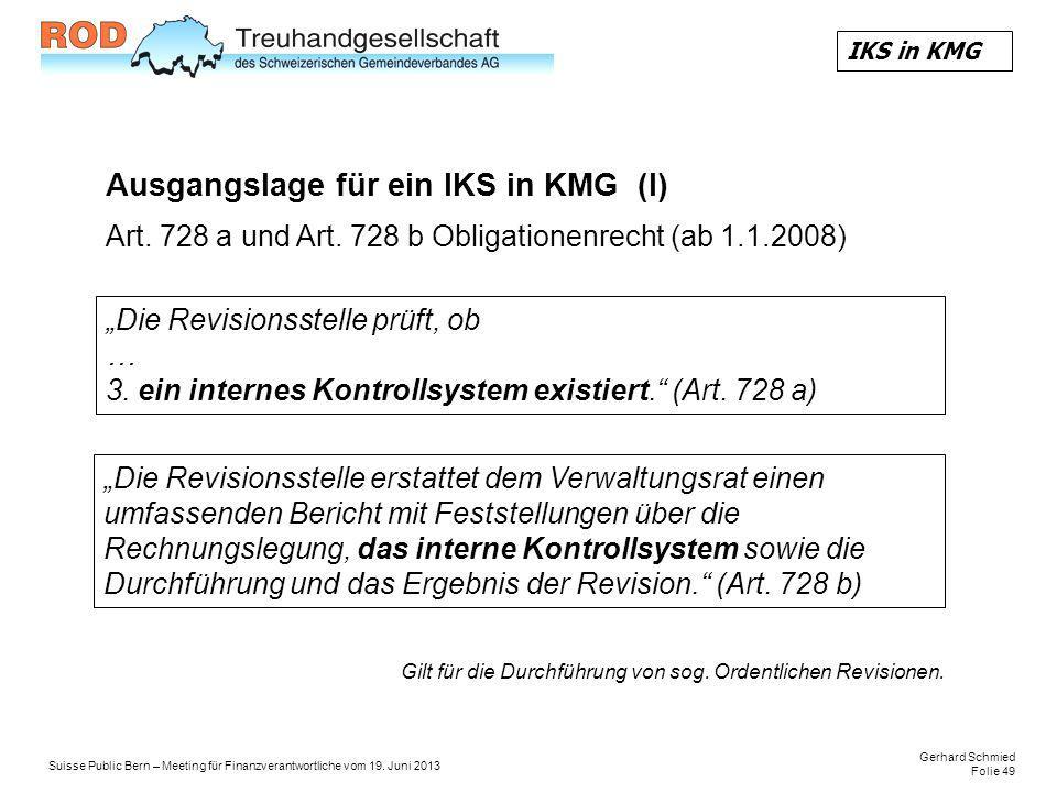 Gerhard Schmied Folie 49 Suisse Public Bern – Meeting für Finanzverantwortliche vom 19.