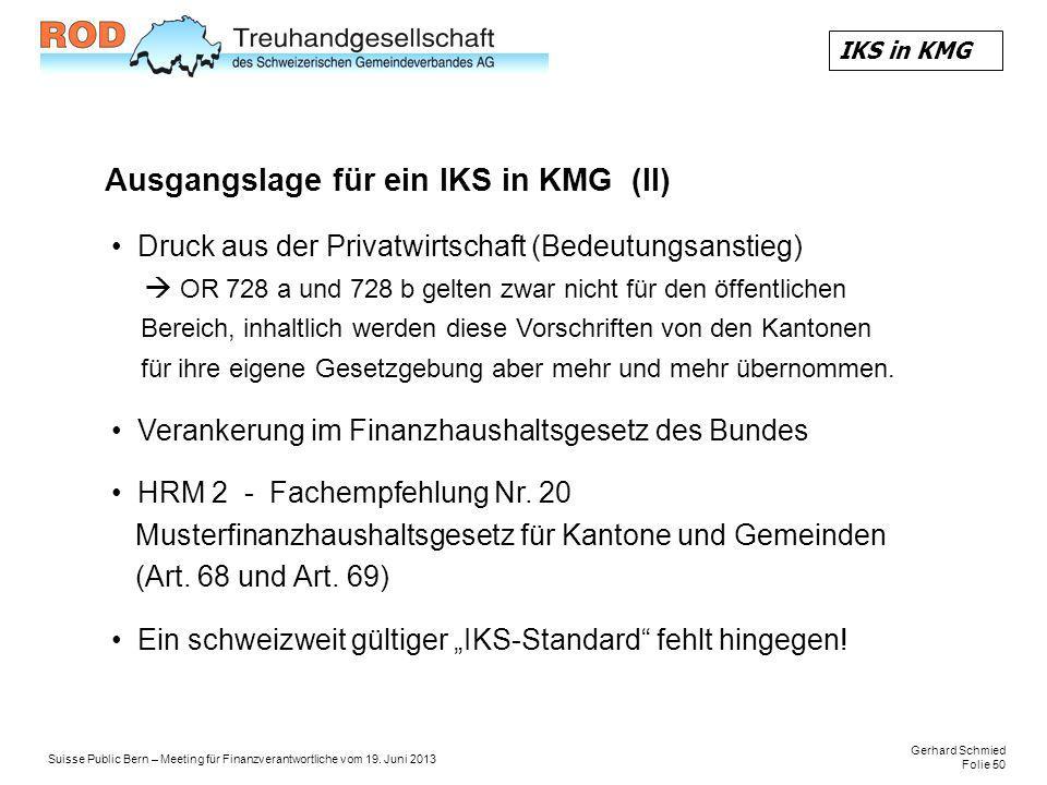 Gerhard Schmied Folie 50 Suisse Public Bern – Meeting für Finanzverantwortliche vom 19.
