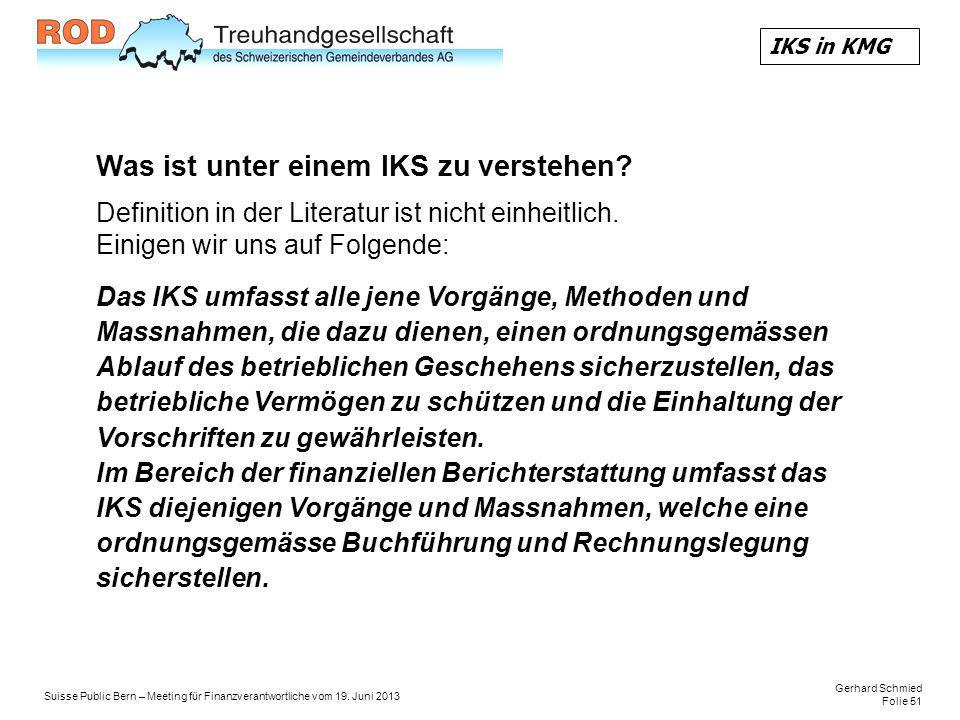 Gerhard Schmied Folie 51 Suisse Public Bern – Meeting für Finanzverantwortliche vom 19.