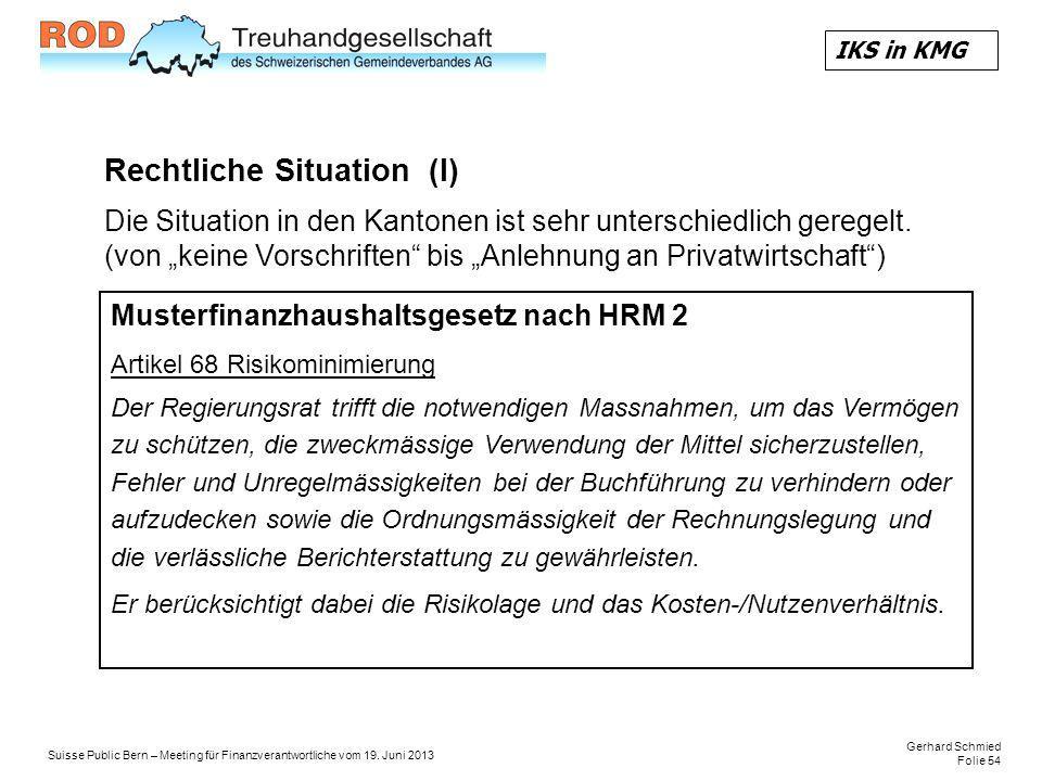 Gerhard Schmied Folie 54 Suisse Public Bern – Meeting für Finanzverantwortliche vom 19.