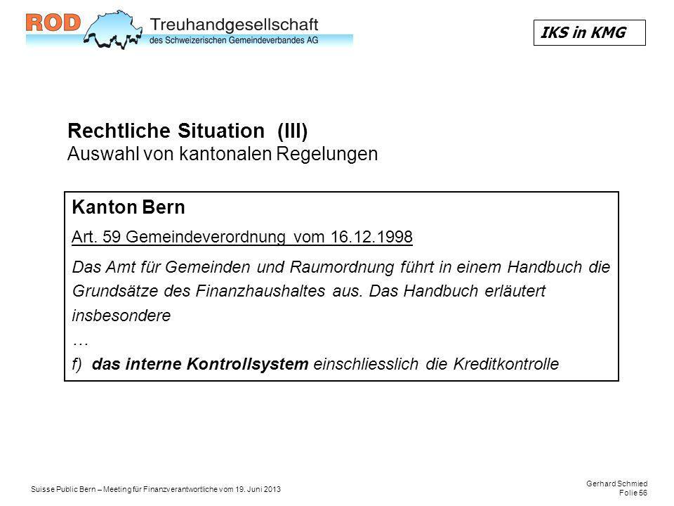 Gerhard Schmied Folie 56 Suisse Public Bern – Meeting für Finanzverantwortliche vom 19.