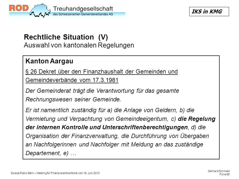 Gerhard Schmied Folie 58 Suisse Public Bern – Meeting für Finanzverantwortliche vom 19.