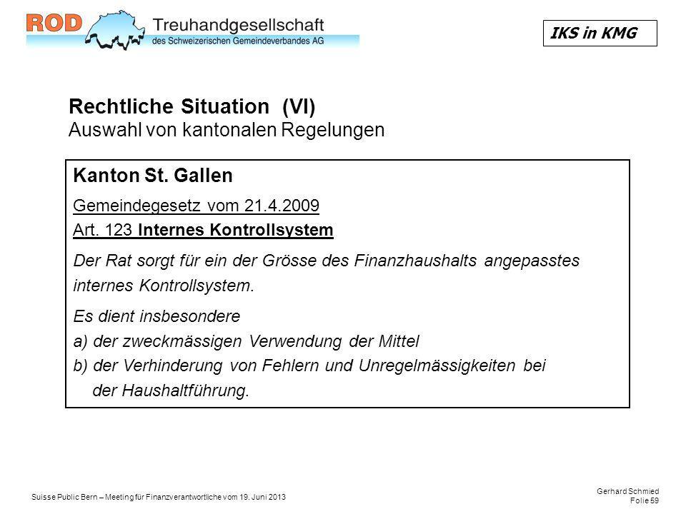 Gerhard Schmied Folie 59 Suisse Public Bern – Meeting für Finanzverantwortliche vom 19.