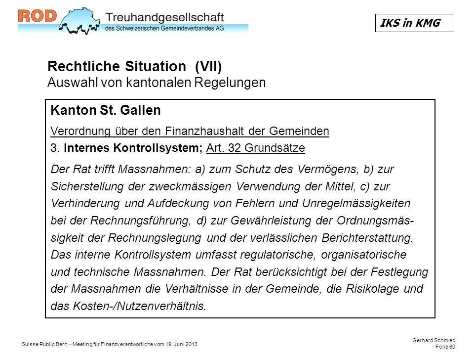 Gerhard Schmied Folie 60 Suisse Public Bern – Meeting für Finanzverantwortliche vom 19.