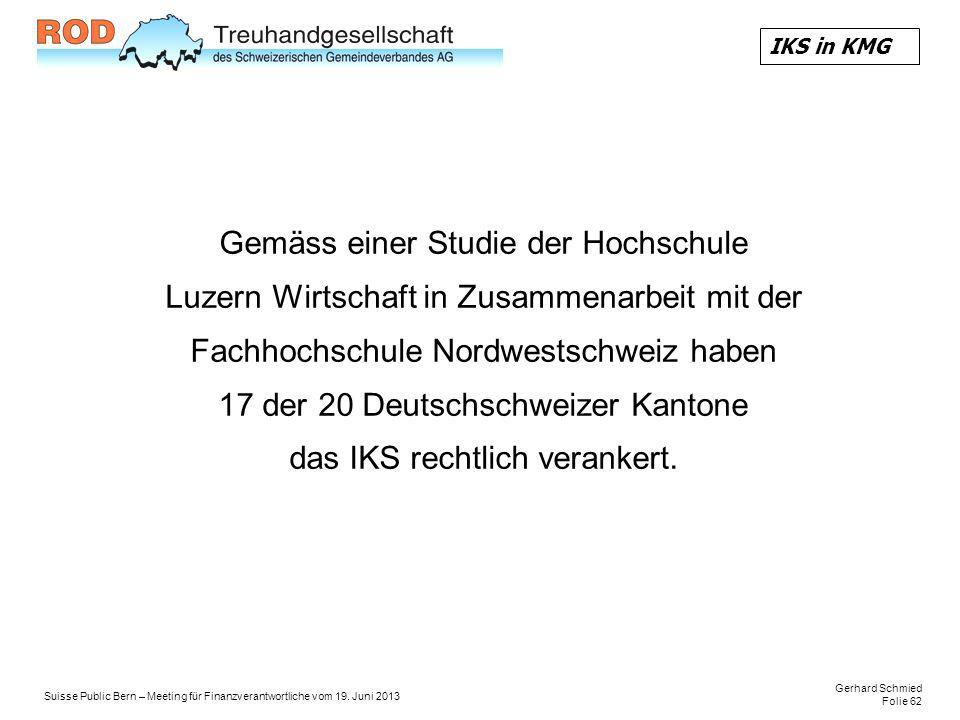 Gerhard Schmied Folie 62 Suisse Public Bern – Meeting für Finanzverantwortliche vom 19.