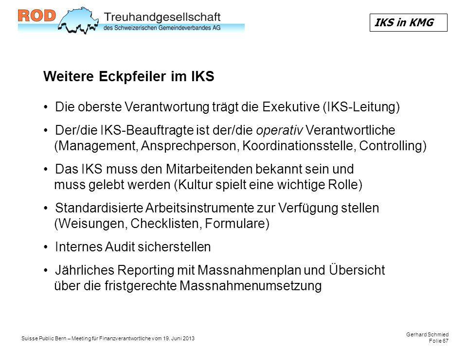 Gerhard Schmied Folie 67 Suisse Public Bern – Meeting für Finanzverantwortliche vom 19.