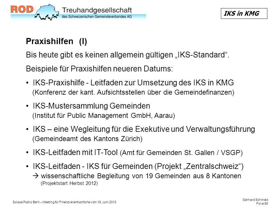 Gerhard Schmied Folie 68 Suisse Public Bern – Meeting für Finanzverantwortliche vom 19.