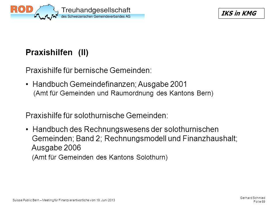 Gerhard Schmied Folie 69 Suisse Public Bern – Meeting für Finanzverantwortliche vom 19.