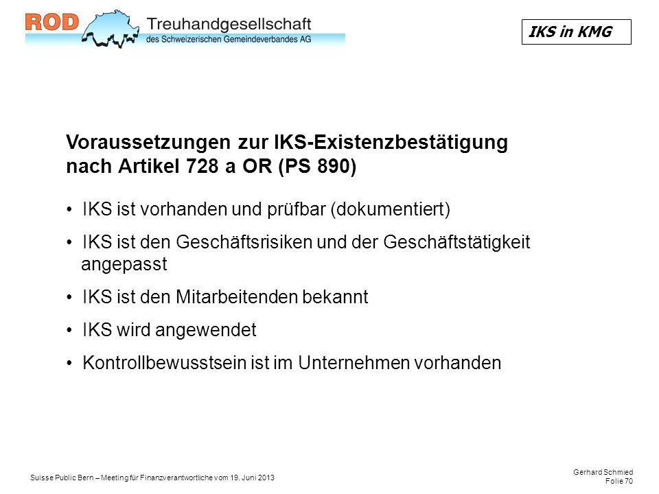 Gerhard Schmied Folie 70 Suisse Public Bern – Meeting für Finanzverantwortliche vom 19.