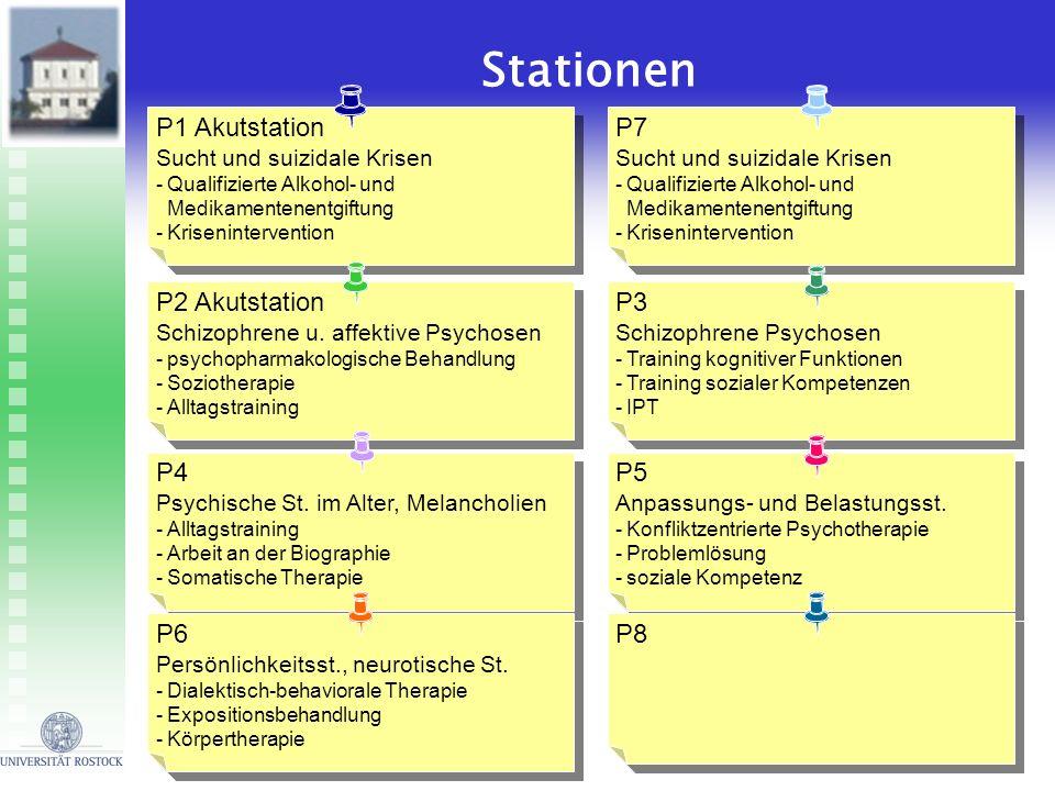 P1 Akutstation Sucht und suizidale Krisen -Qualifizierte Alkohol- und Medikamentenentgiftung -Krisenintervention P1 Akutstation Sucht und suizidale Kr