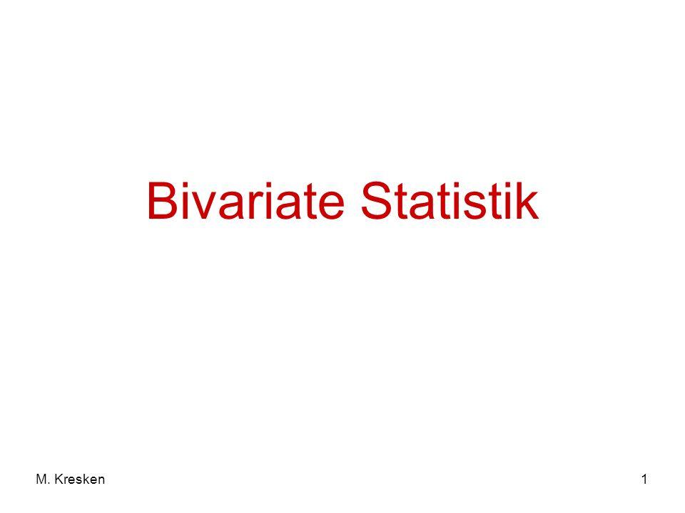 1M. Kresken Bivariate Statistik