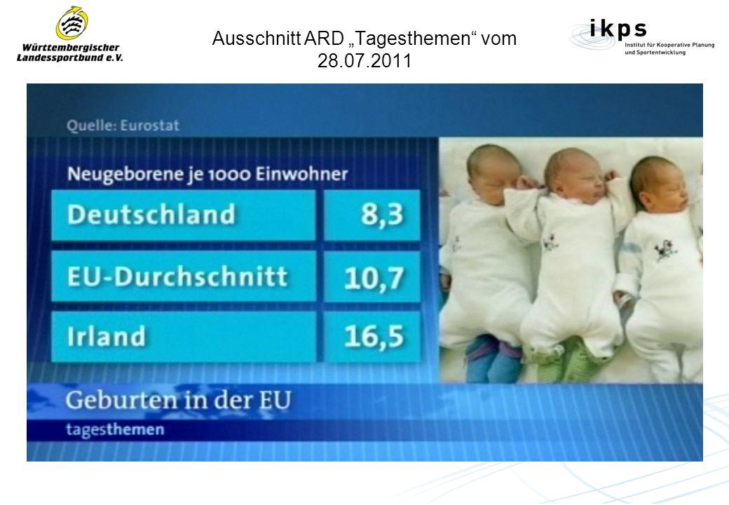 Ausschnitt ARD Tagesthemen vom 28.07.2011