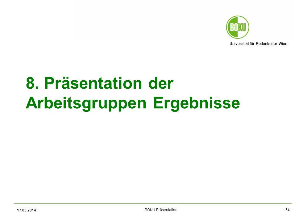 Universität für Bodenkultur Wien BOKU Präsentation 8.