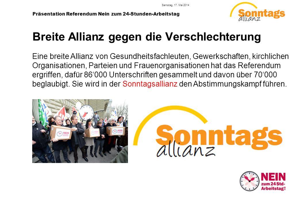4 Präsentation Referendum Nein zum 24-Stunden-Arbeitstag Samstag, 17.