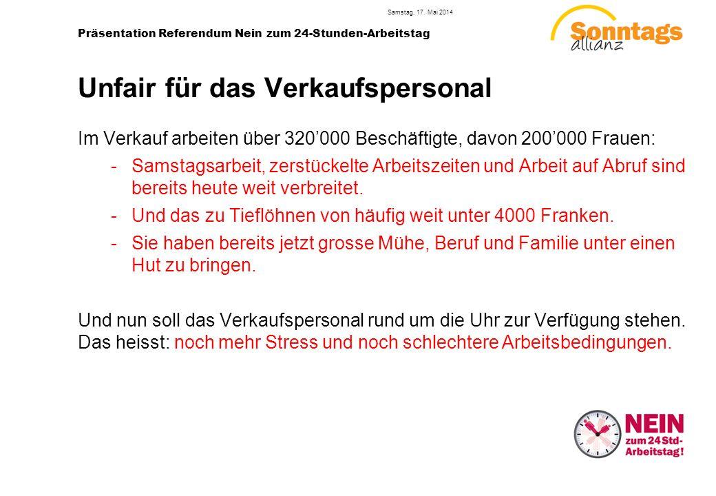 6 Präsentation Referendum Nein zum 24-Stunden-Arbeitstag Samstag, 17.