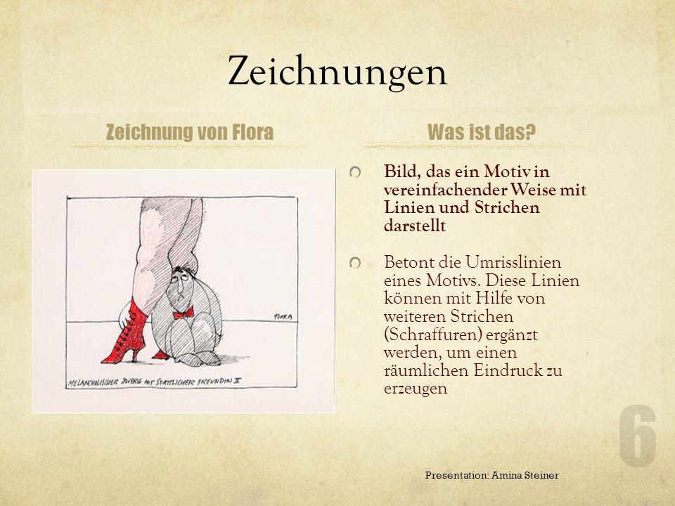 Zeichenstil/Technik Markenzeichen: spitzschnäblige Raben Raben repräsentierten das Verhalten der Mensche Anfangs Schraffur 60er : Strich fester, die U