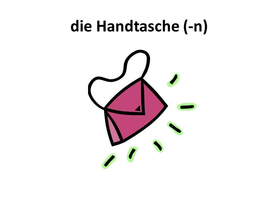 die Handtasche (-n)