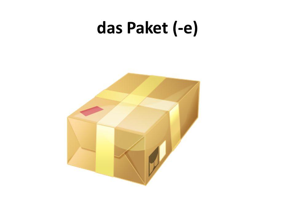 das Paket (-e)