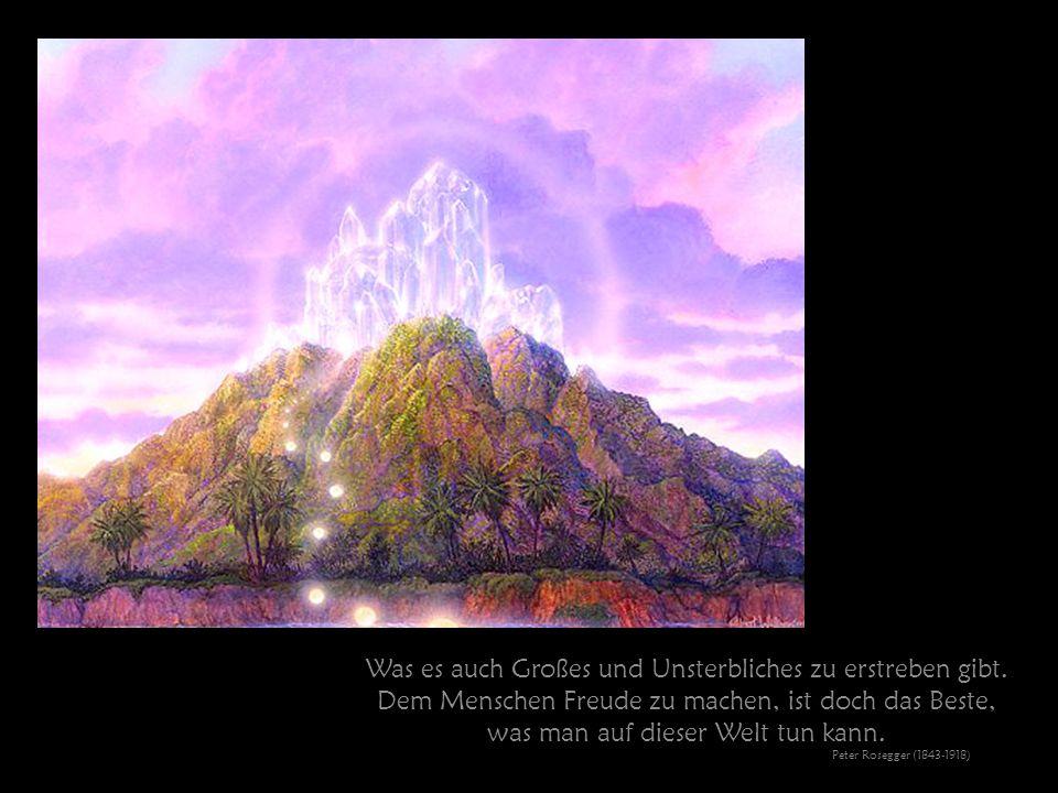Verzage nicht, vielleicht ist das Unglück die Quelle deines Glücks. Franz Marc Meriander (1880-1916)