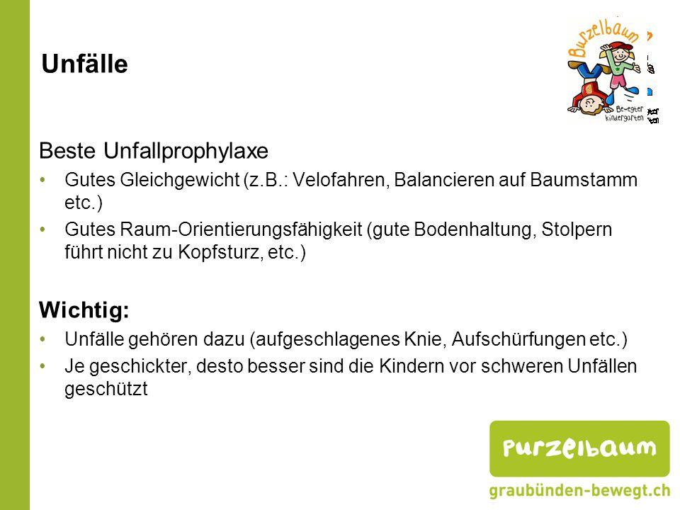 Gewichtsveränderungen in den letzten 25 Jahren: Kindergartenkinder: + 0.9 kg Primarschule 3.