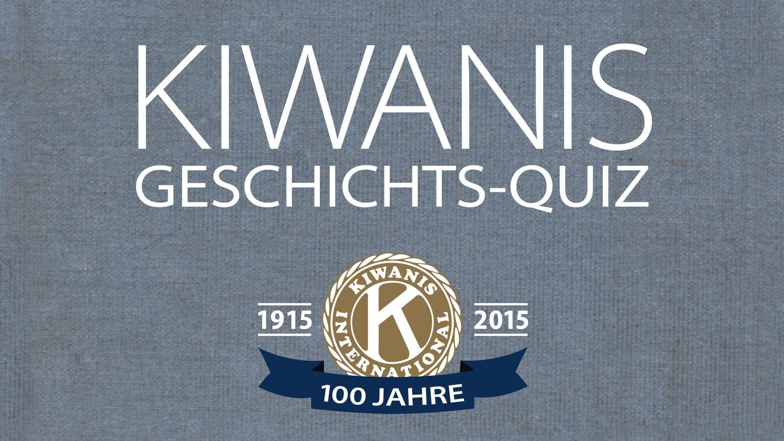 Der erste Kiwanis Club wurde am 21.Januar 1915 in Detroit gegründet.