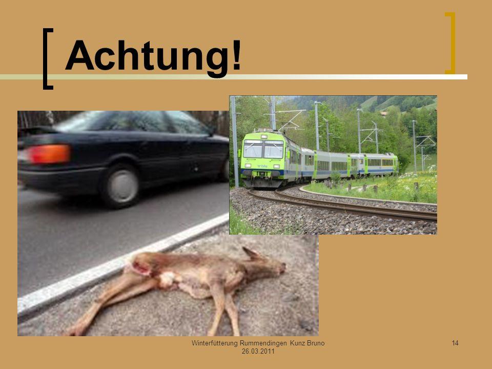 Winterfütterung Rummendingen Kunz Bruno 26.03.2011 Achtung! 14