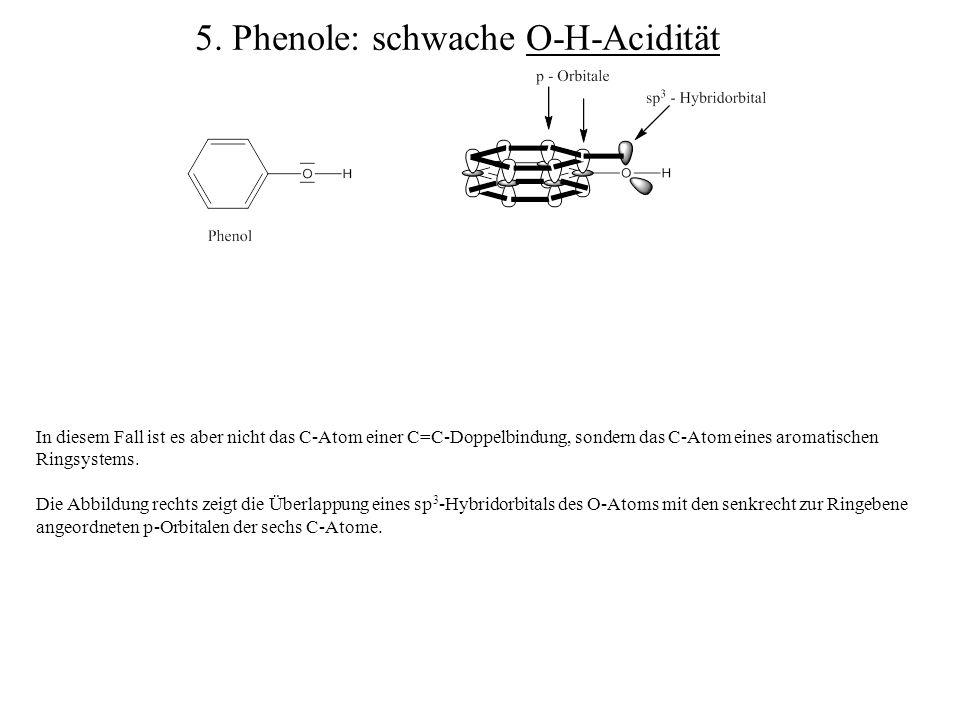 In diesem Fall ist es aber nicht das C-Atom einer C=C-Doppelbindung, sondern das C-Atom eines aromatischen Ringsystems. Die Abbildung rechts zeigt die