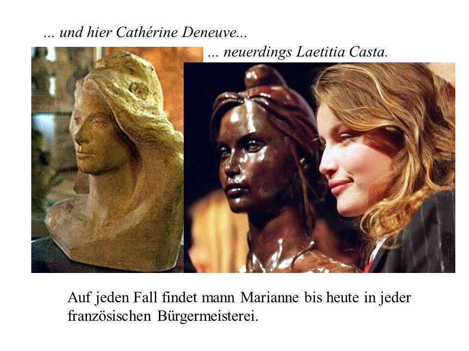 Auf jeden Fall ist sie jung, offenherzig, attraktiv, französisch. Hier stand erkennbar Brigitte Bardot Modell...