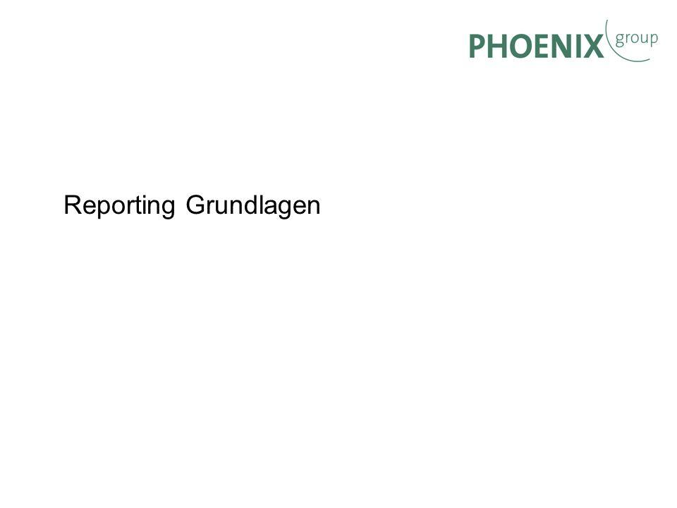 Reporting Grundlagen