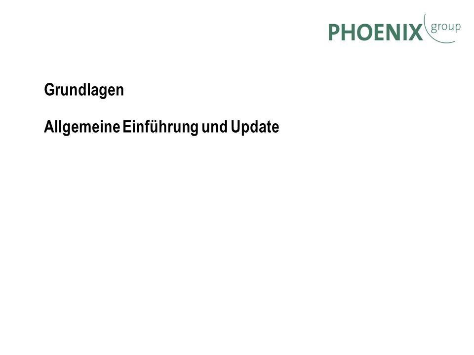 Grundlagen Allgemeine Einführung und Update