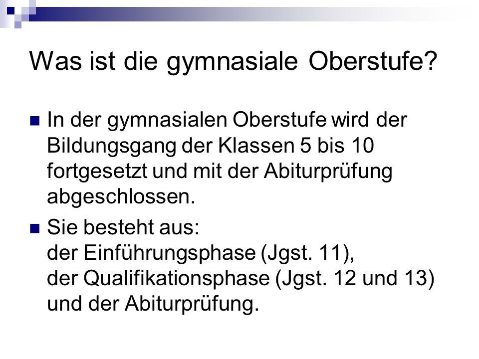 Die Abiturprüfungen 1 Im 1.bis 3.
