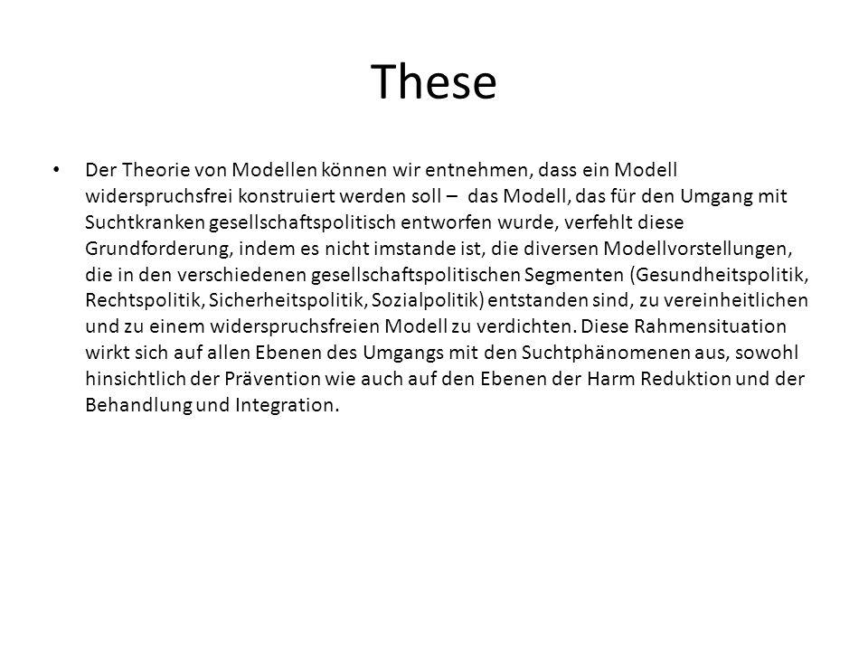 These Der Theorie von Modellen können wir entnehmen, dass ein Modell widerspruchsfrei konstruiert werden soll – das Modell, das für den Umgang mit Suc