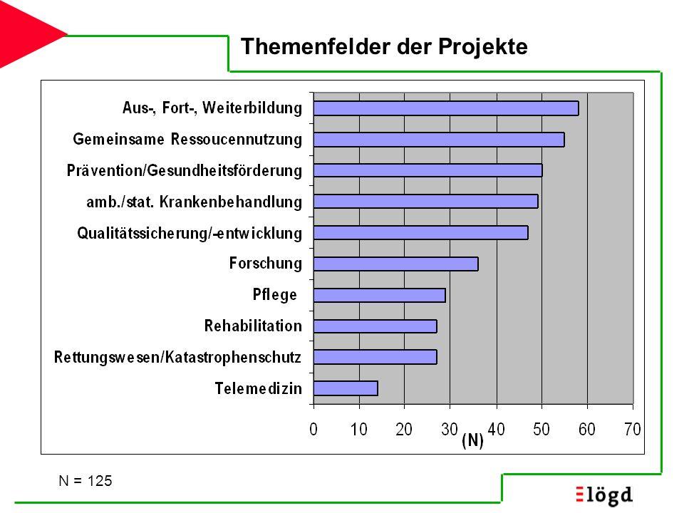Fördernde Faktoren & Projekt- bedingungen N=125