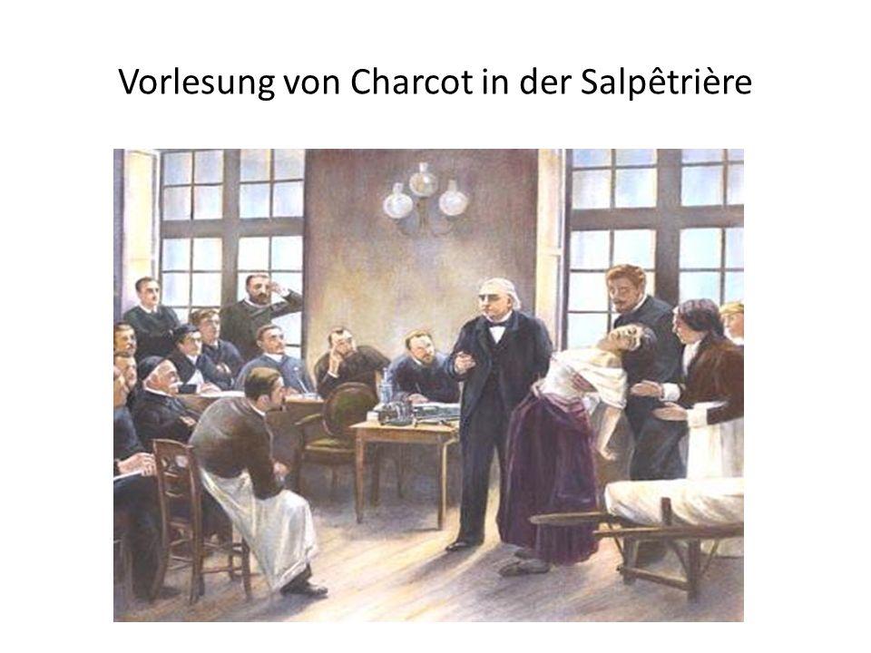 Vorlesung von Charcot in der Salpêtrière