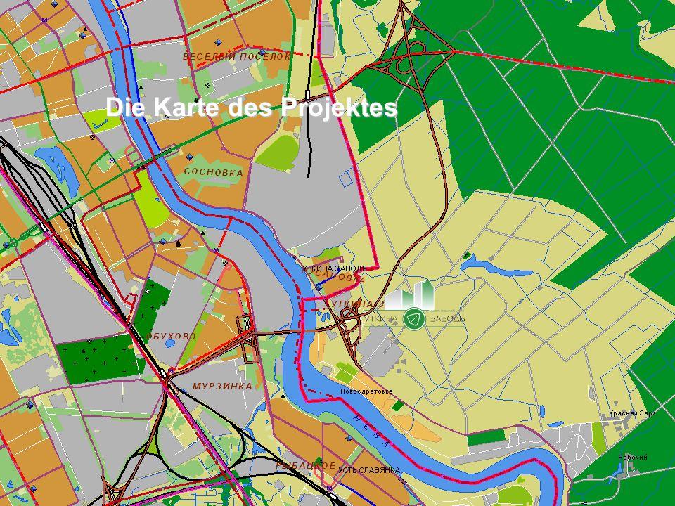 Die zusätzlichen Charakteristiken des Bezirkes und des Projektes insgesamt Im Rahmen des Bezirkes der Lage das Projekt hinter sich den Grenzen der Stadt Sankt St.
