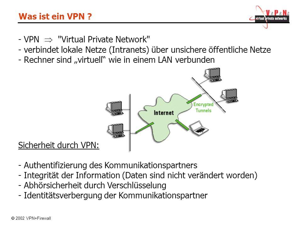 Was ist ein VPN .