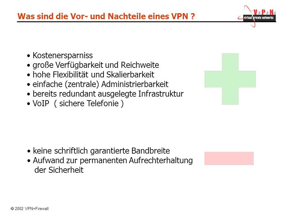 Was sind die Vor- und Nachteile eines VPN .